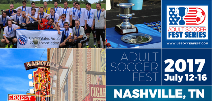Adullt Soccer Fest coming to Nashville, Tenn!